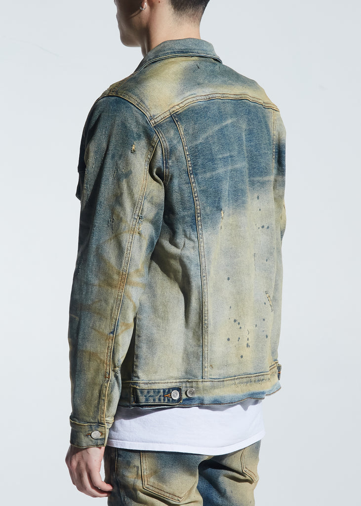 Barrett Denim Jacket (Vintage Dirty Wash)