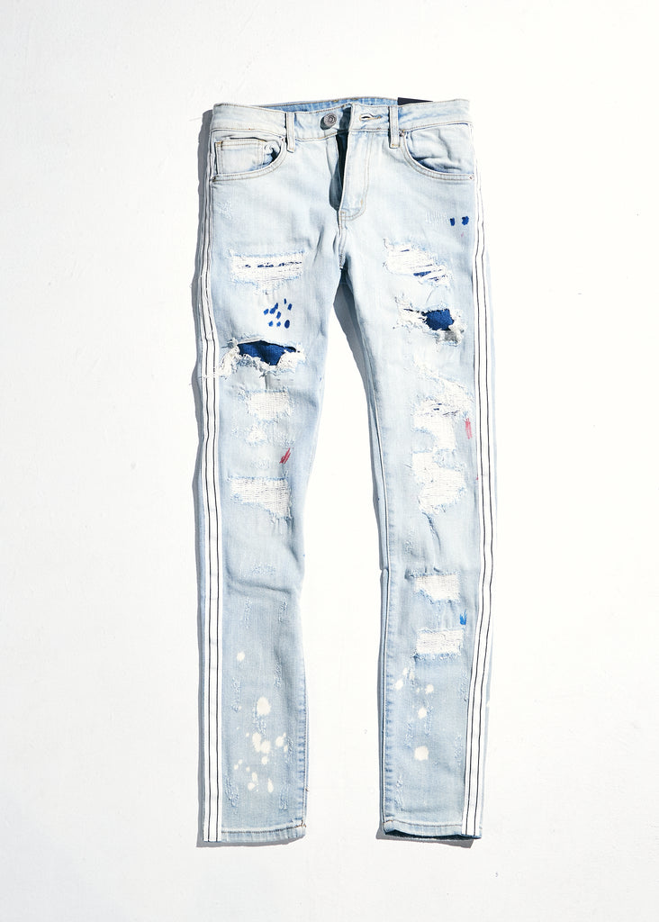 Willups Stripe Denim (Blue/White)