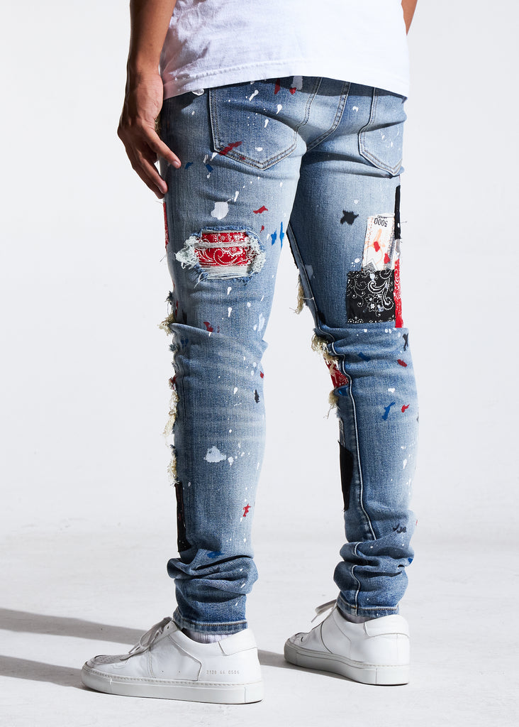 Rebel Rip & Repair Denim