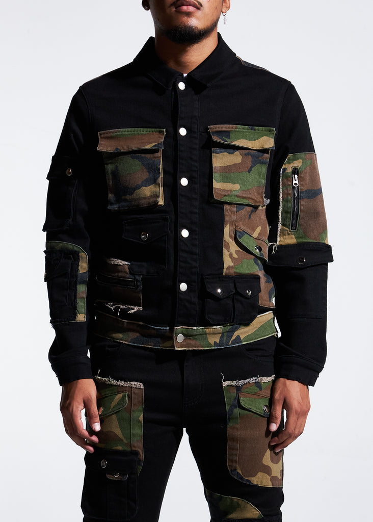 Operator Denim Jacket (Cargo)