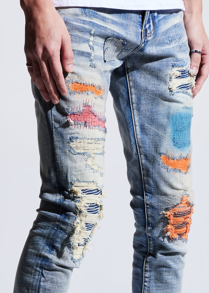 Hamlin Rip & Repair Denim
