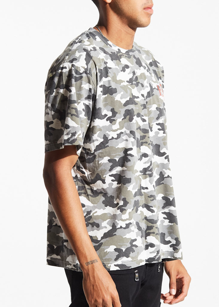 Capella Tee (Grey Camo)