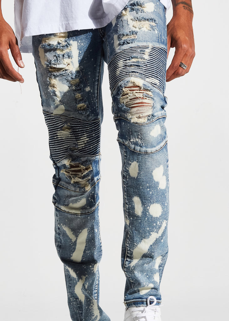 Gumble Biker Denim (Blue Stone)