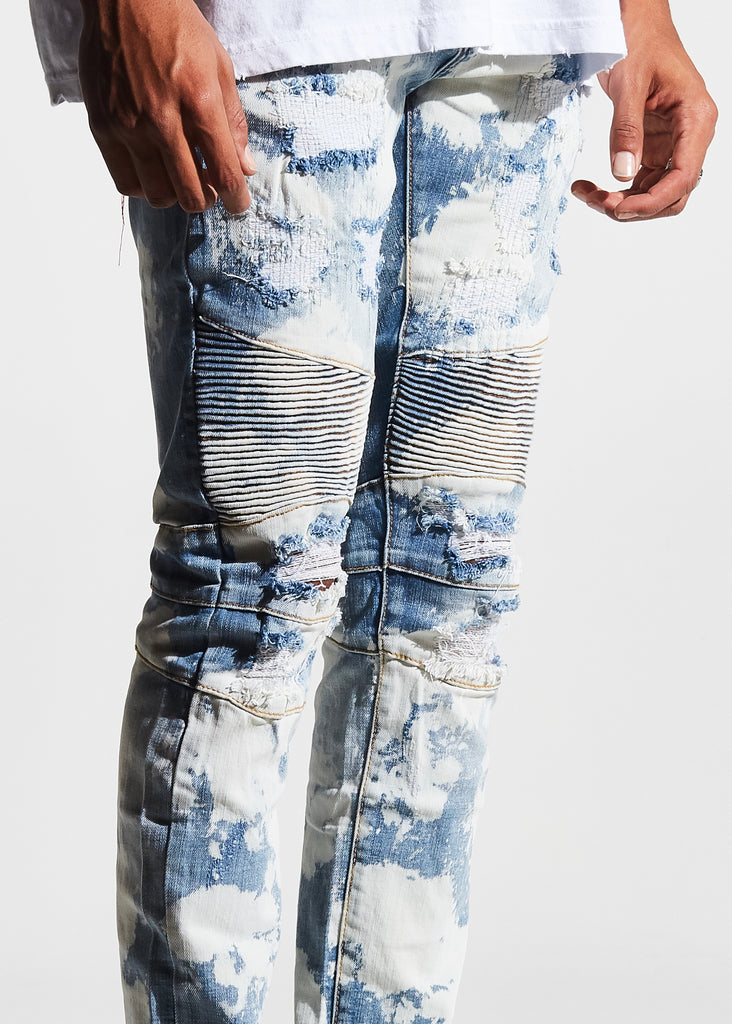 McClure Biker Denim (Cloud Wash)