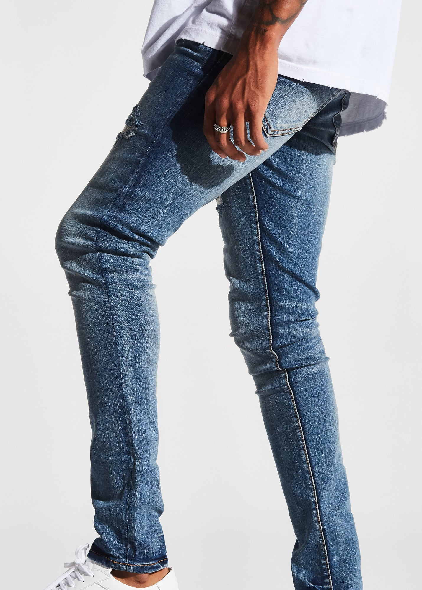 Hibbert Denim (Blue Stone)