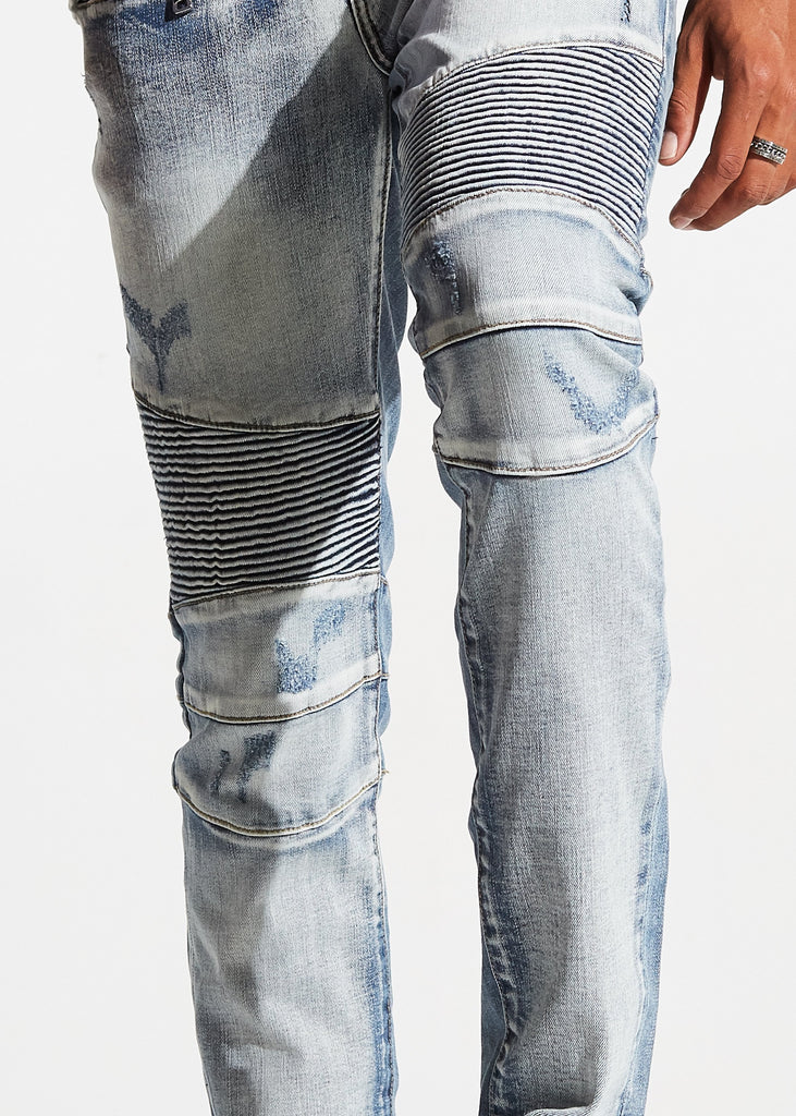 Mercury Biker Denim (Light Blue)