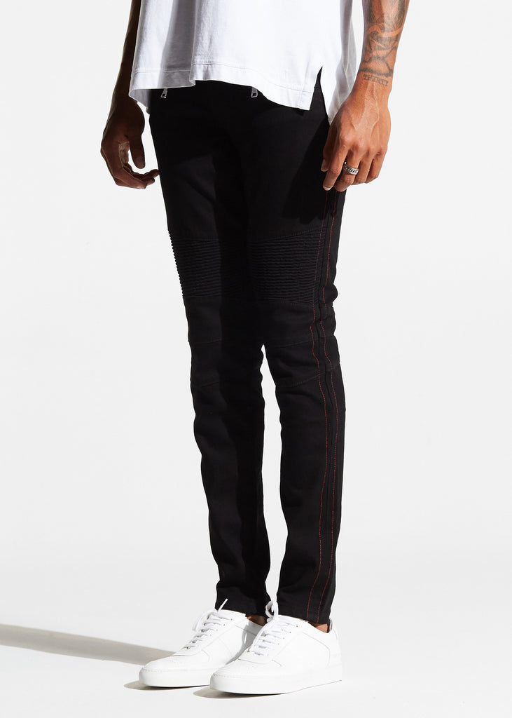 Jericho Biker Denim (Black)