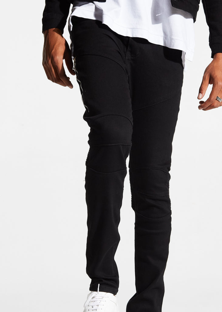 Mackenzie Biker Denim (Black)