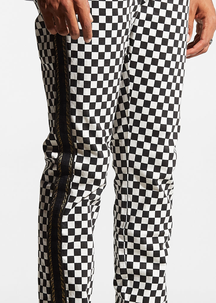 Leo Denim (Checker)