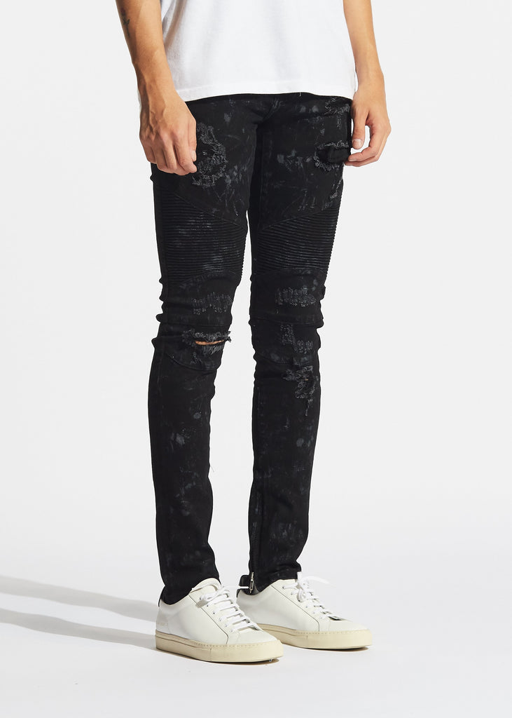Vulcan Biker Denim ( Black)