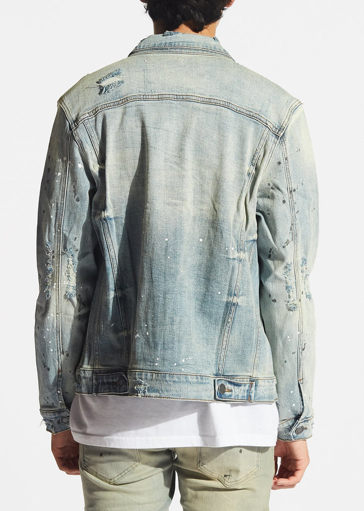 Drako Jacket (Light Blue Paint)