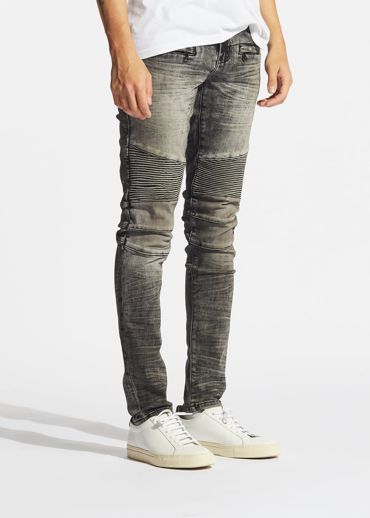 Mensa Biker Denim (Grey)