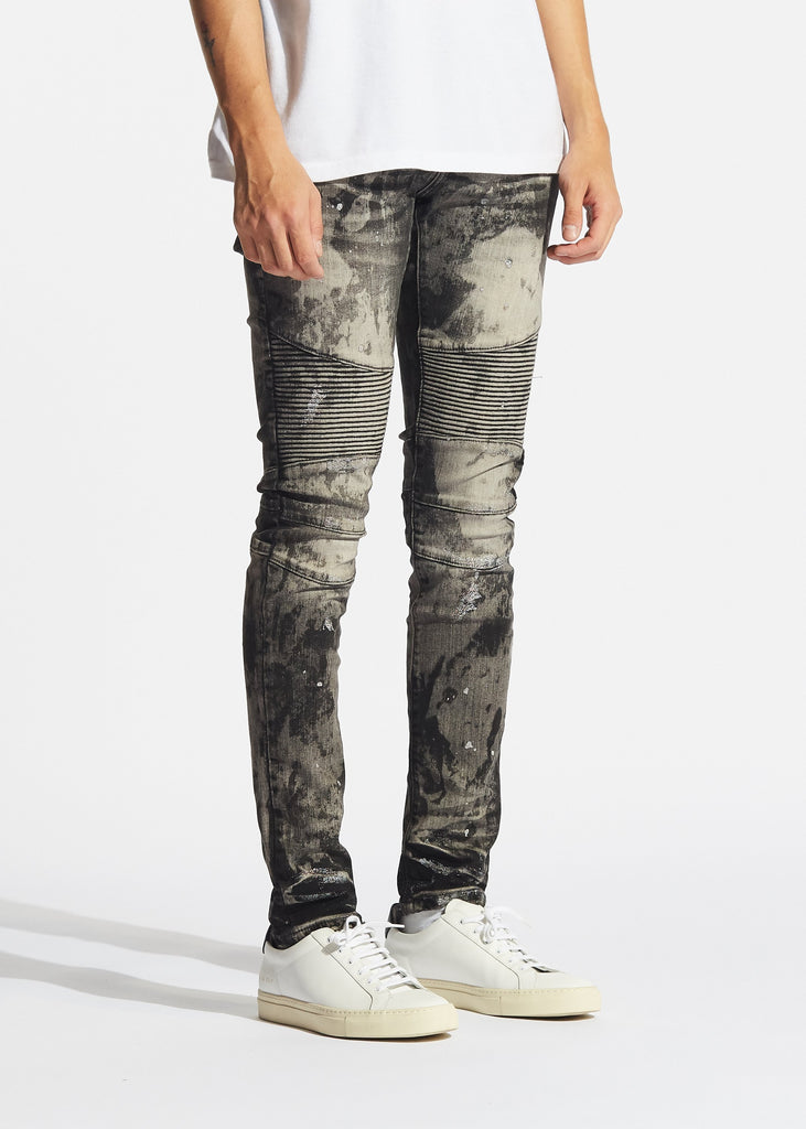 Bella Biker Denim (Grey Acid)