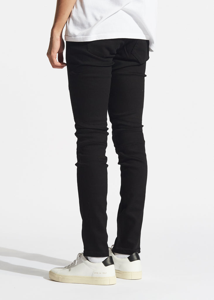 Hobbs Biker Denim (Black)