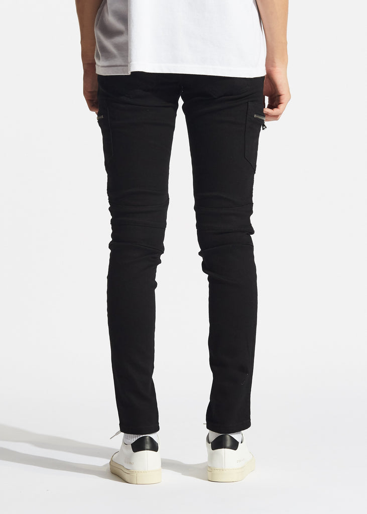 Neptune Biker Denim (Black)