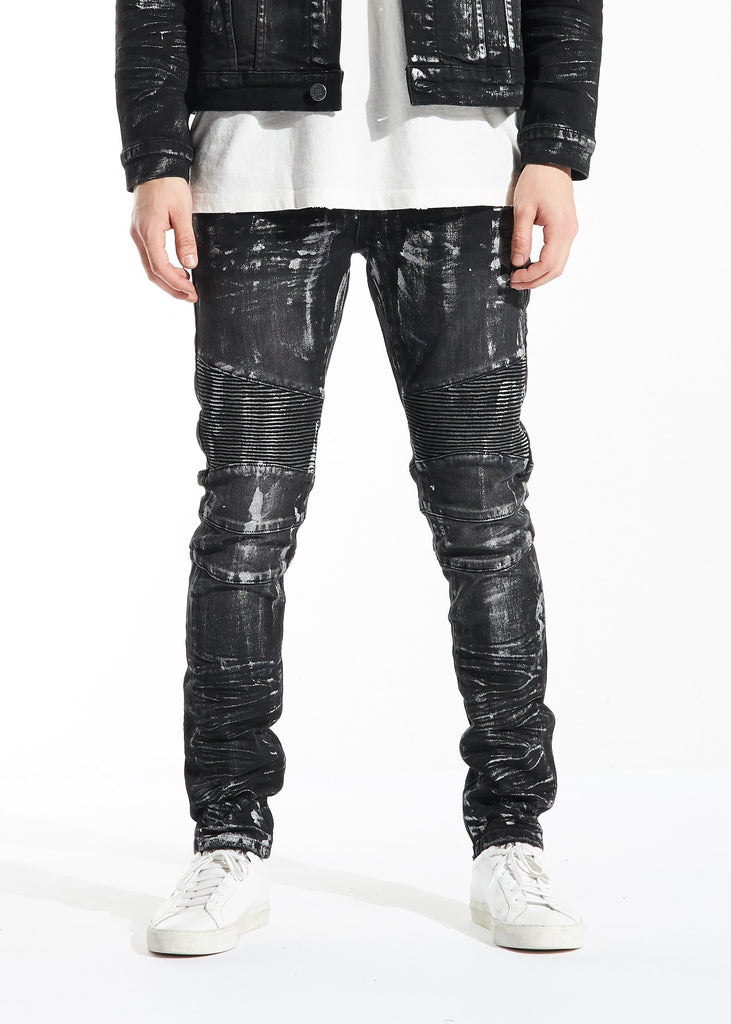 Blake Biker Denim (Black)