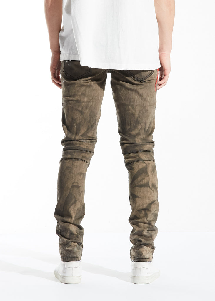 Salvador Biker Denim (Ash Brown)