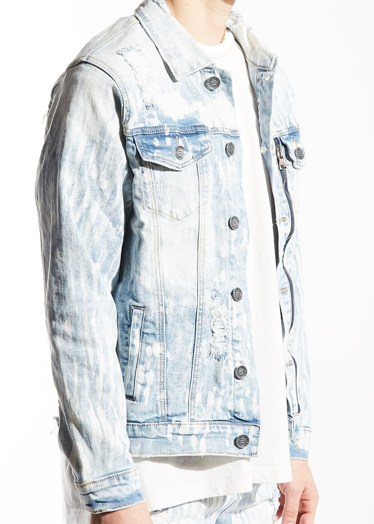Peterson Jacket (Light Blue Bleach)