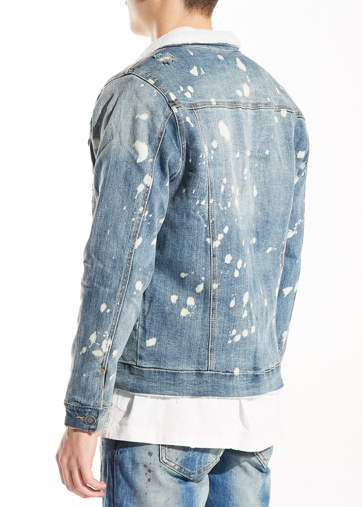 Rubens Jacket (Mid Blue)