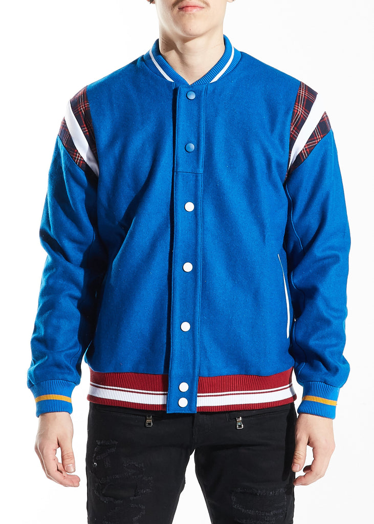 Hockney Varsity Jacket (Blue)