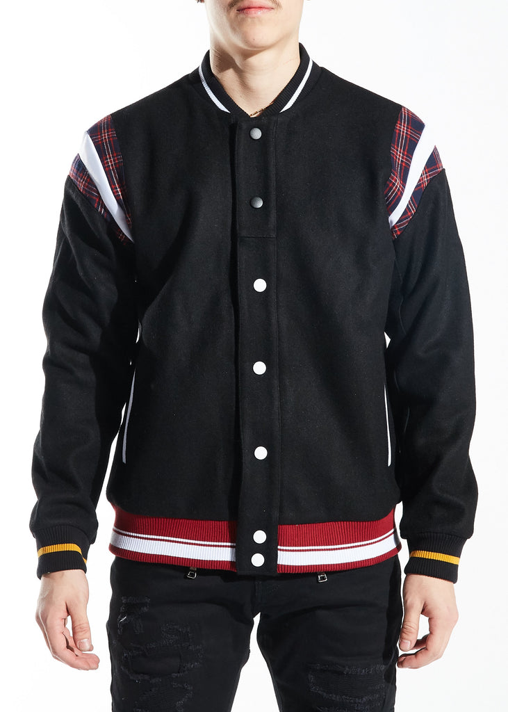 Hockney Varsity Jacket (Black)