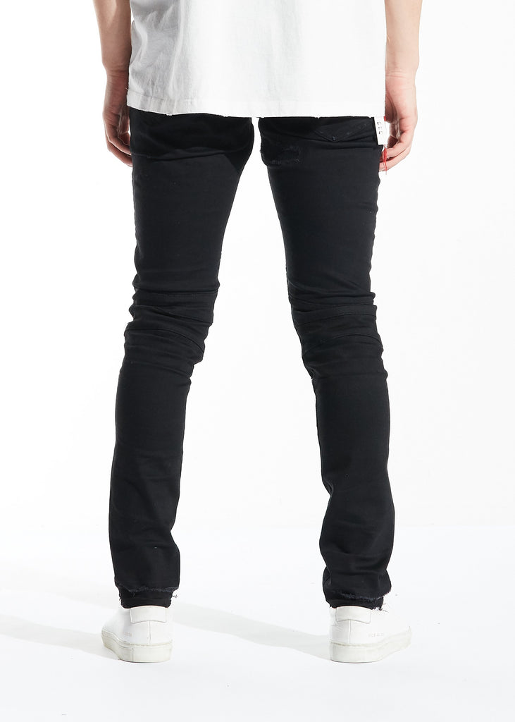 Rothko Biker Denim (Black)