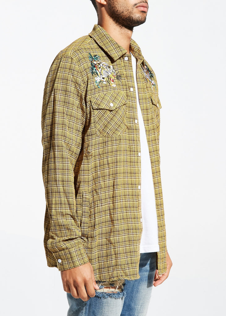 Escher Flannel (Tan)
