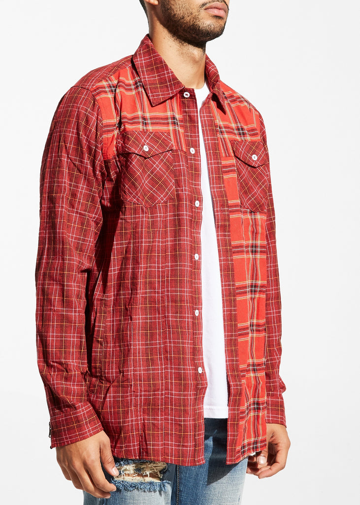 Escher Flannel (Red)