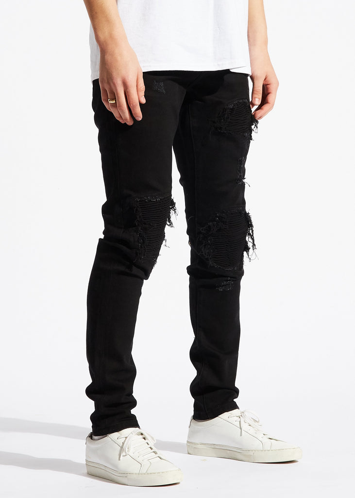 Julie Biker Denim (Black)
