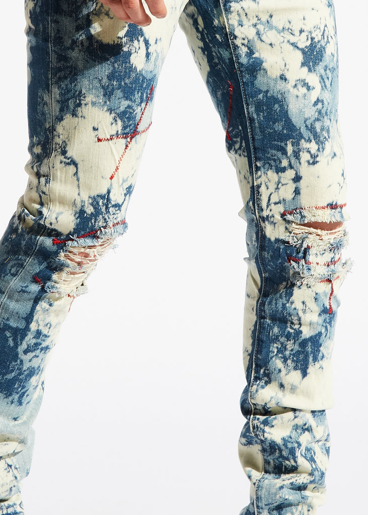 Dixie Standard Denim (Blue Bleach)