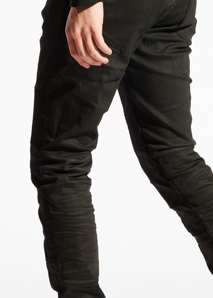 Sacha Biker Denim (Black)