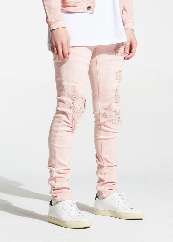 Parker Rip and Repair Denim (Pink)