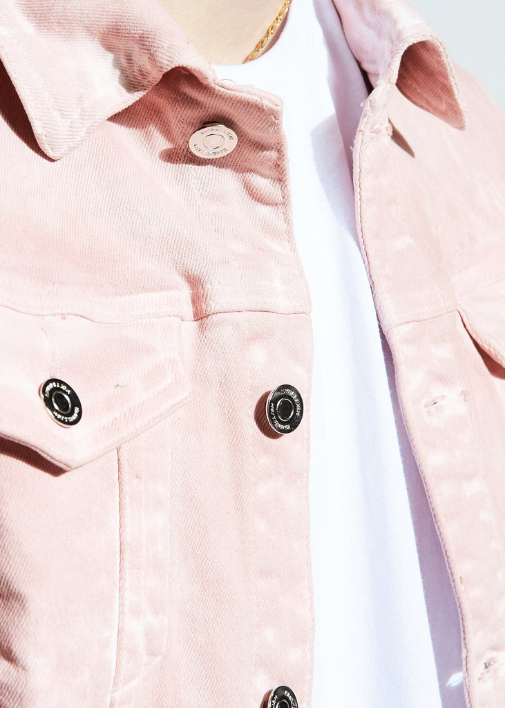 Parker Denim Jacket (Pink)