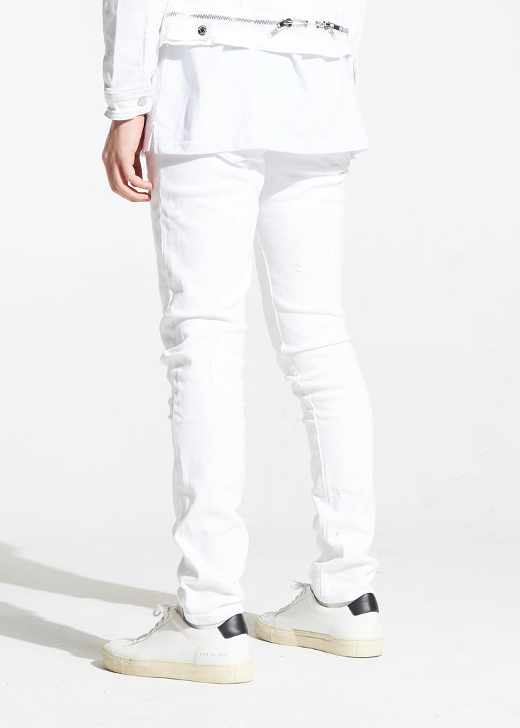Parker Denim (White)