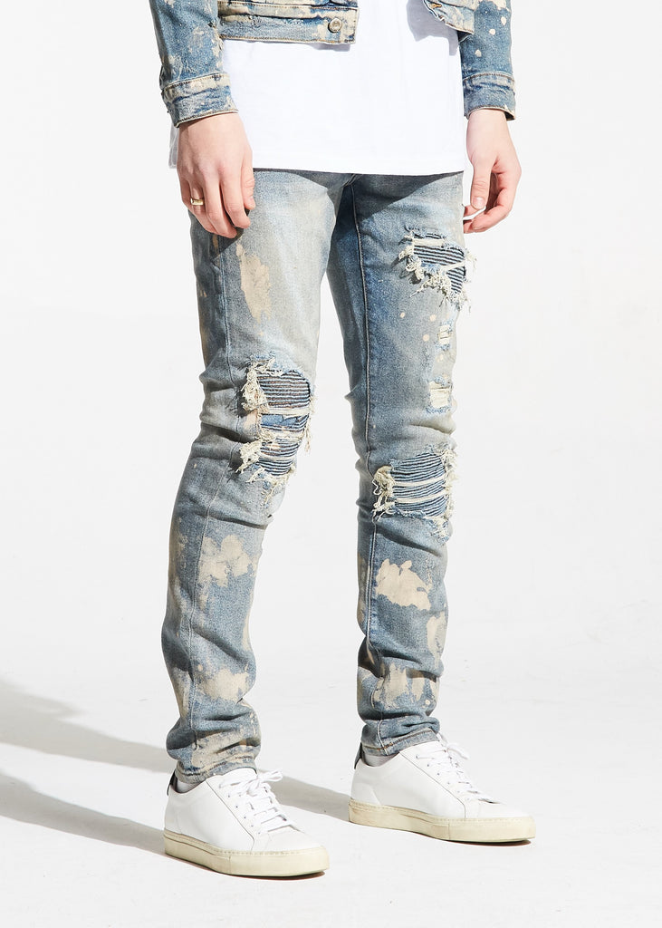 Williamson Rip and Repair Denim (Light Blue)