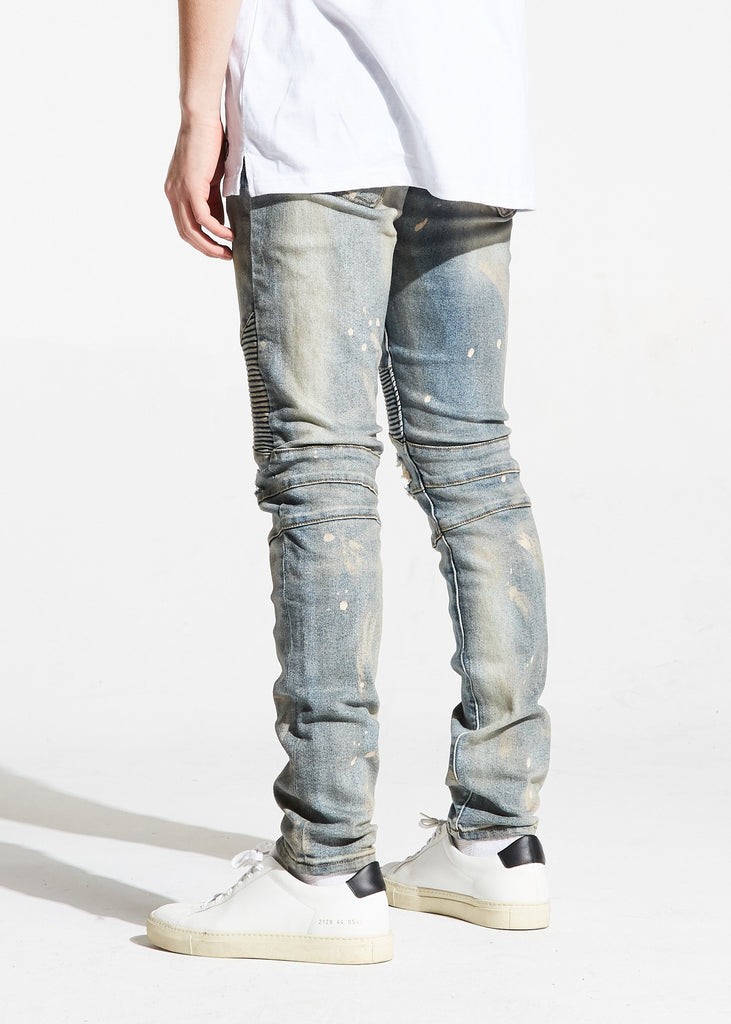 Williamson Biker Denim (Light Blue)
