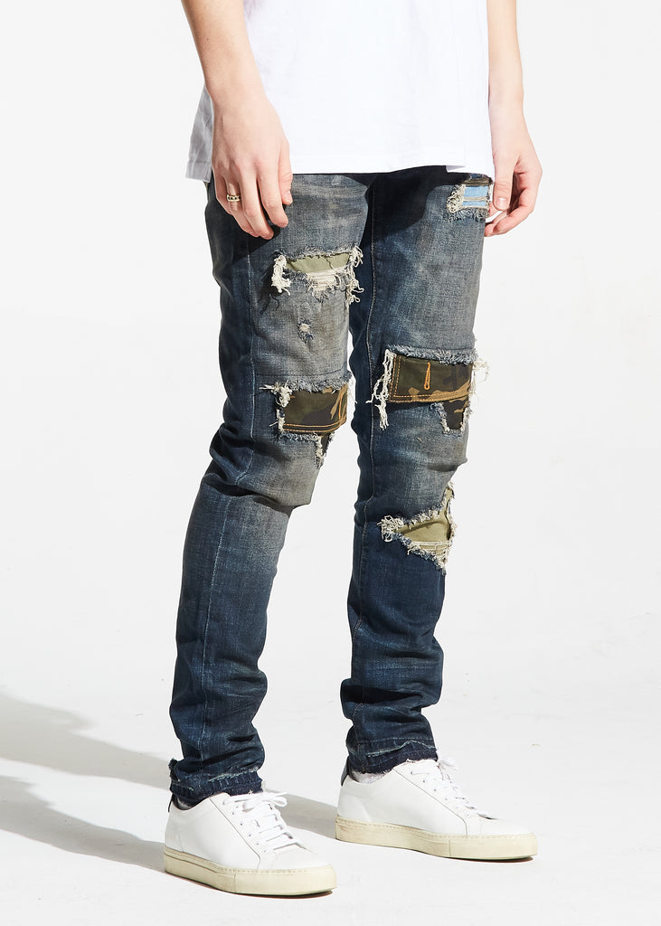 Malaki Rip and Repair Denim