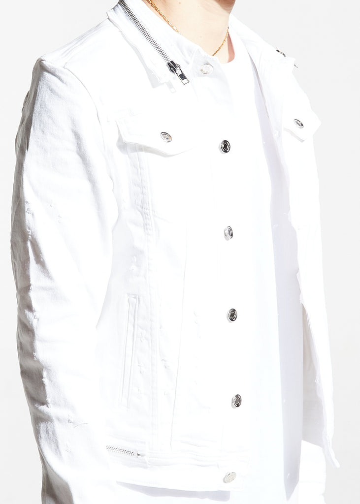 Parker Denim Jacket (White)