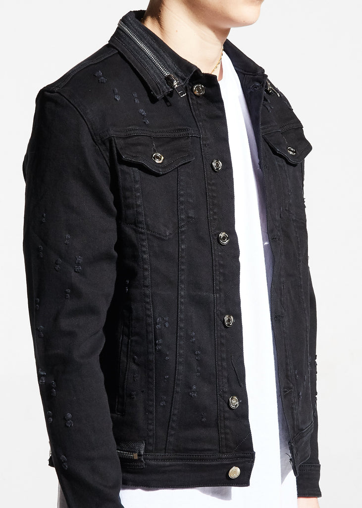 Parker Denim Jacket (Black)