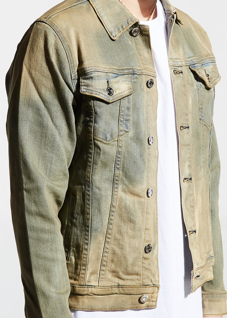 Valentino Denim Jacket (Sand)
