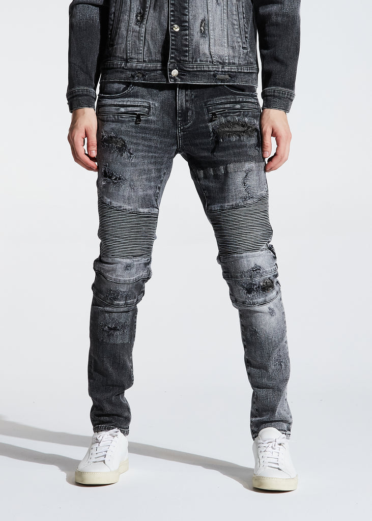 Jackson Biker Denim (Gray Wash)