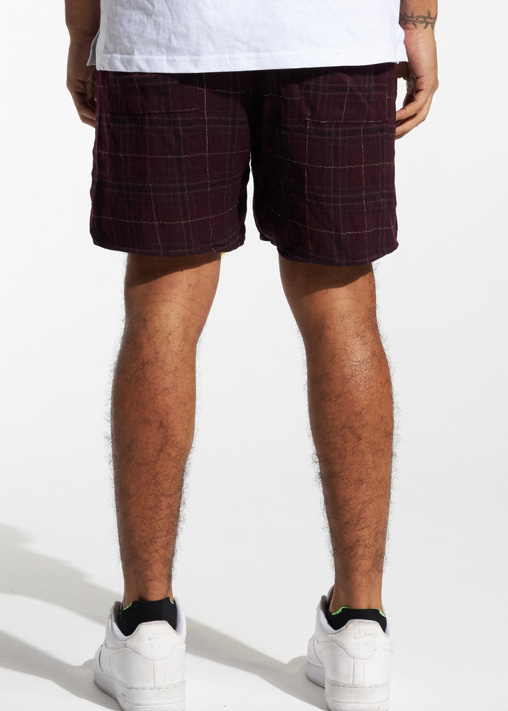 Tartan Shorts (Red Plaid)