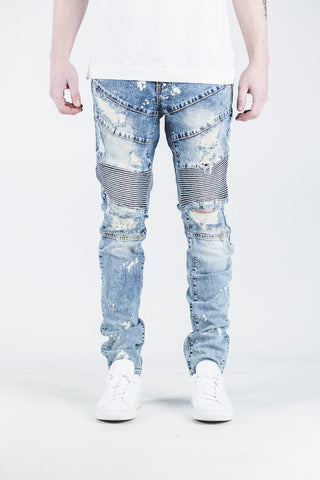 Bad Biker Denim (Blue)