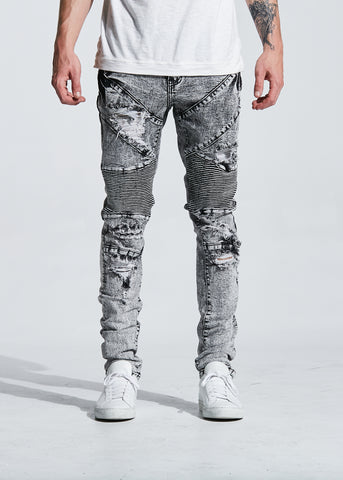 Cano Stacked Denim (Black)