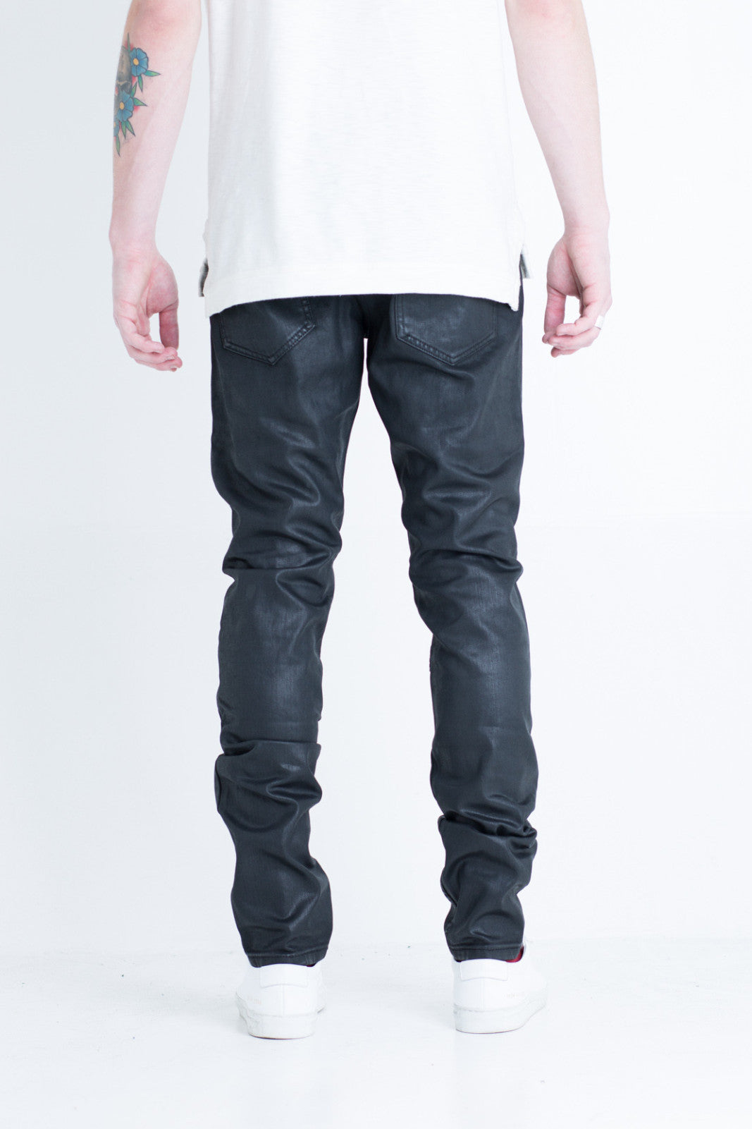 Bundy Biker Denim (Black)