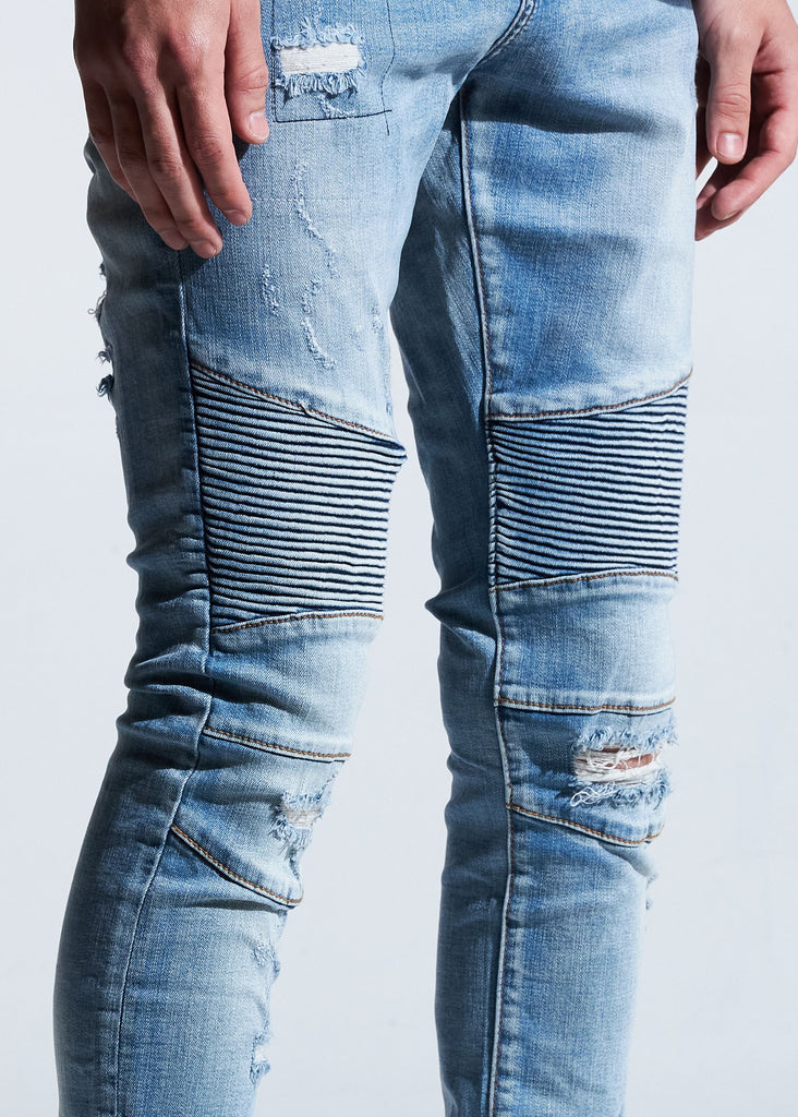 Whitney Biker Denim
