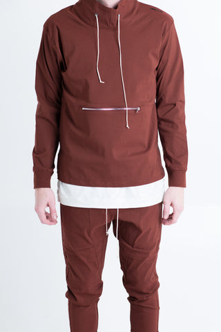 Capital Sweatshirt (Brown)