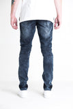 Corvair Ripped Biker Denim (Indigo)