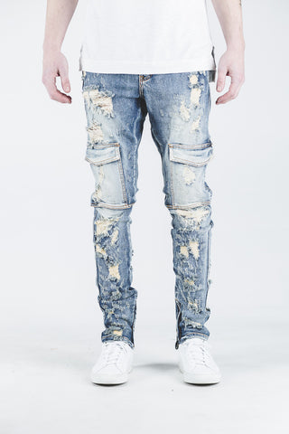 Darren Cargo Denim