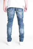 Drogo Ripped Denim (Indigo Blue)